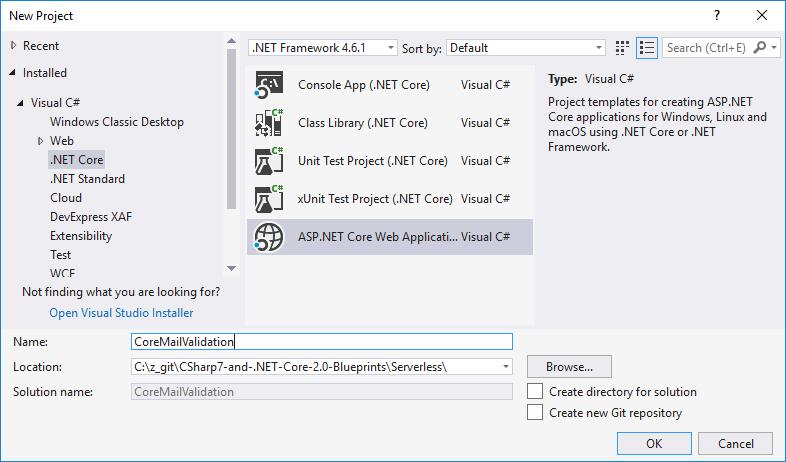 ASP.Net Core Web application