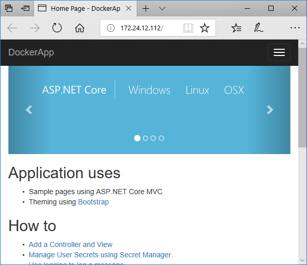 Application uses