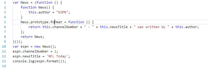 code transpiled