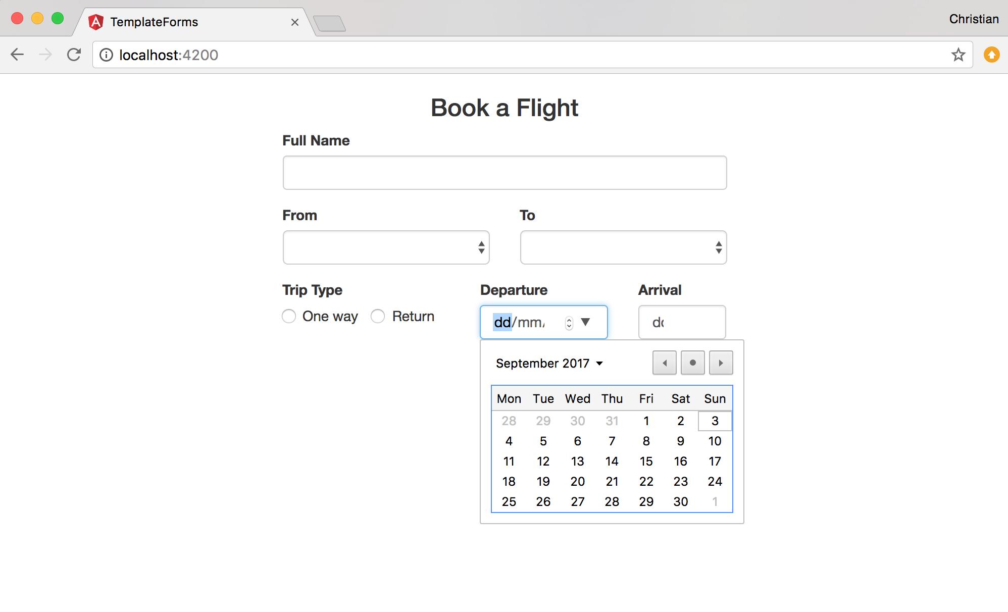 Create enterprise-grade Angular forms in TypeScript [Tutorial