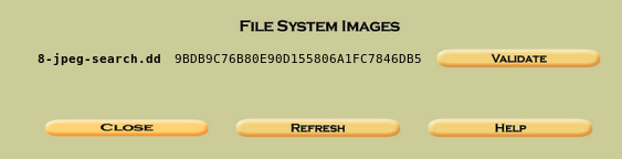 file system images