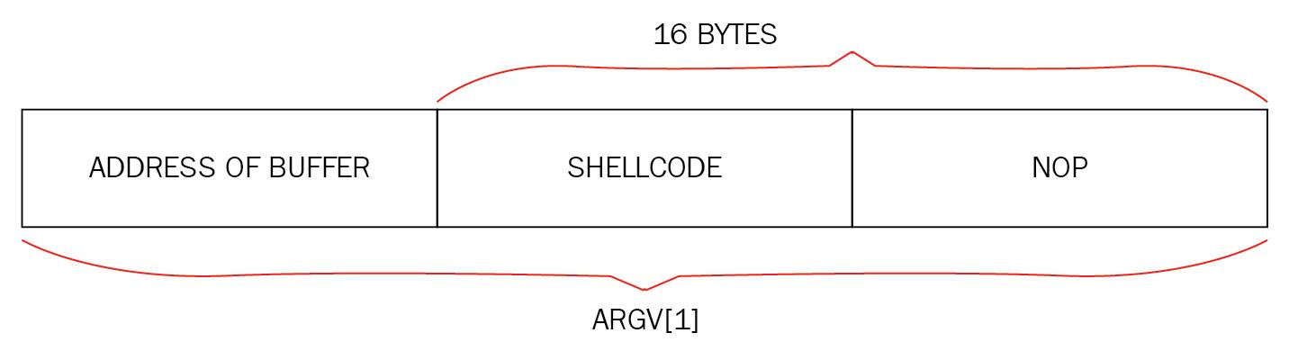 Input argv[1] to exploit