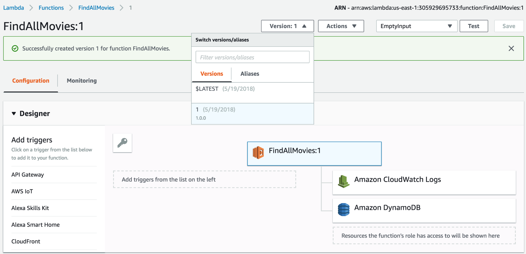 How to deploy Serverless Applications in Go using AWS Lambda