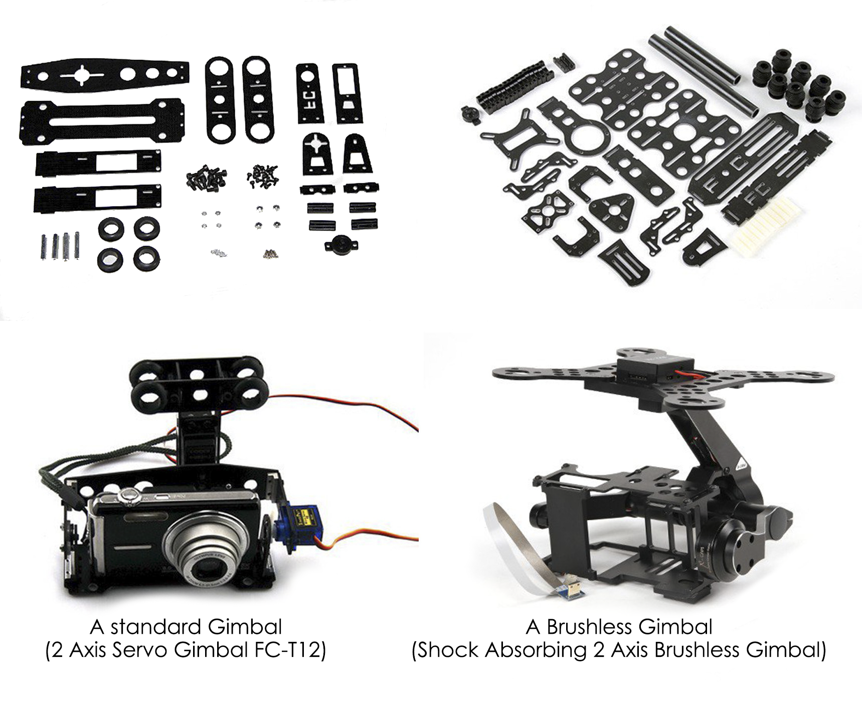 number of gimbals