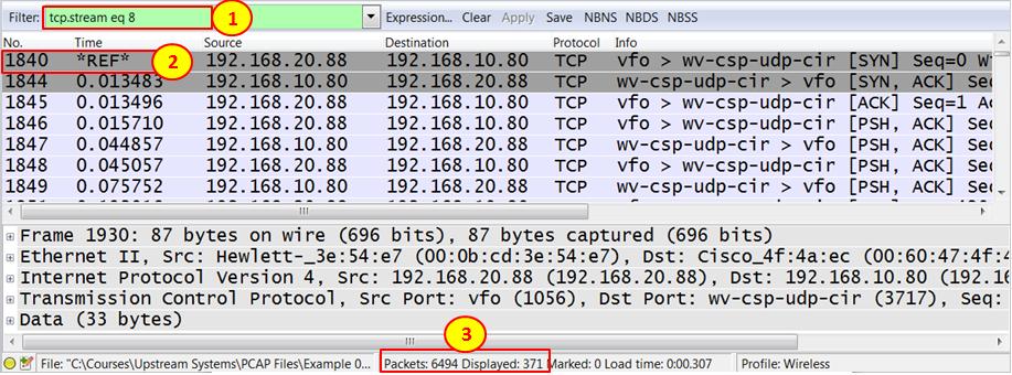 Analyzing enterprise application behavior with Wireshark 2