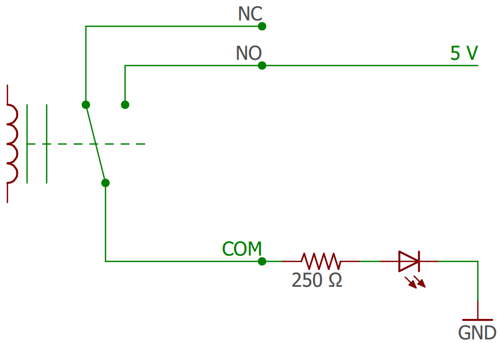 Connecting a LED