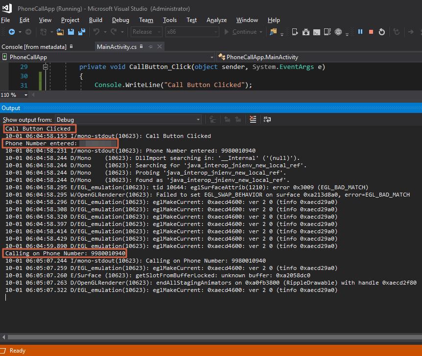 Debugging Xamarin Application on Visual Studio [Tutorial