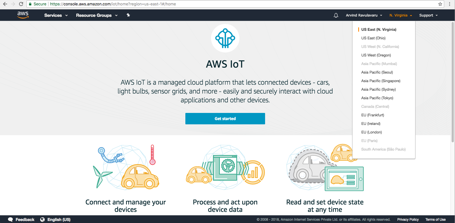 Build an IoT application with AWS IoT [Tutorial] | Packt Hub
