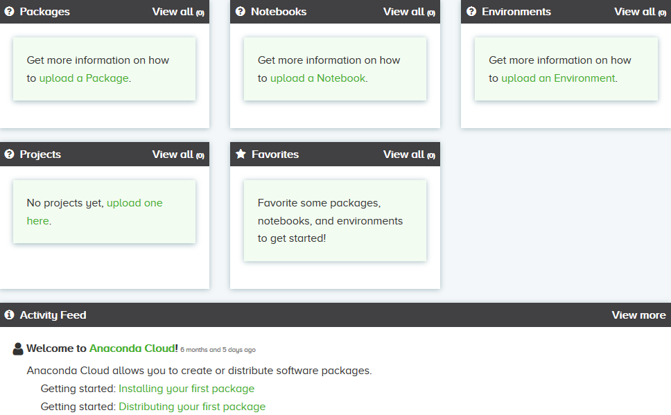 Share projects and environment on Anaconda cloud [Tutorial] | Packt Hub