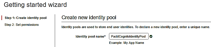 Amazon Cognito for secure mobile and web user authentication