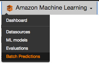 Getting started with Amazon Machine Learning workflow [Tutorial