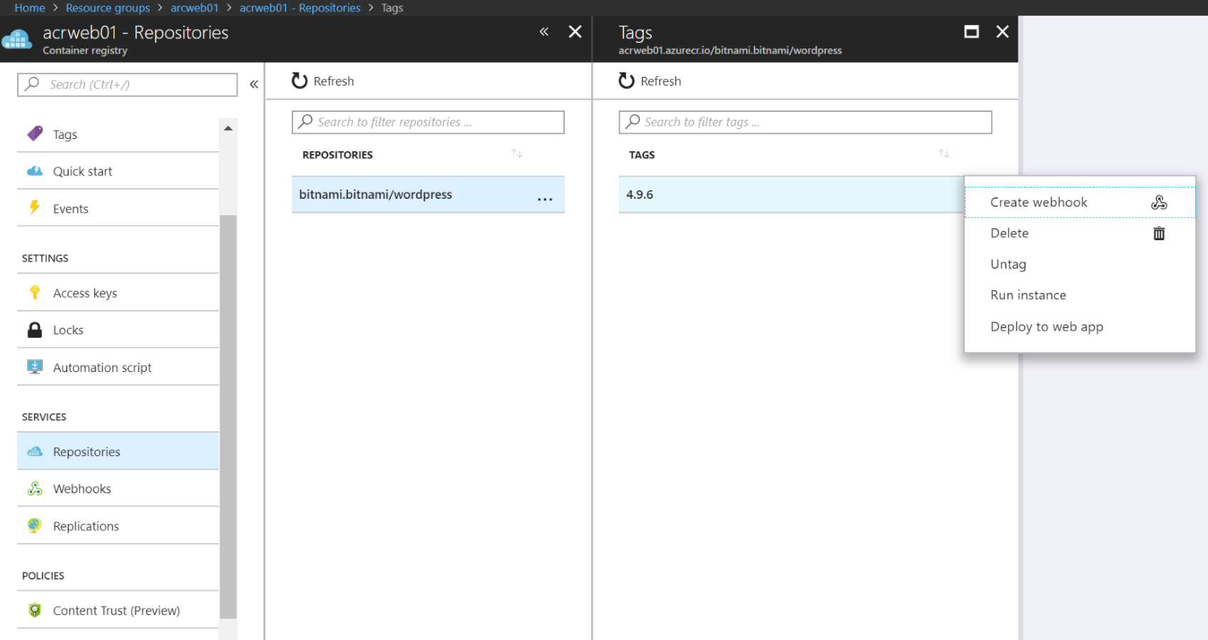 Implementing Azure-Managed Kubernetes and Azure Container