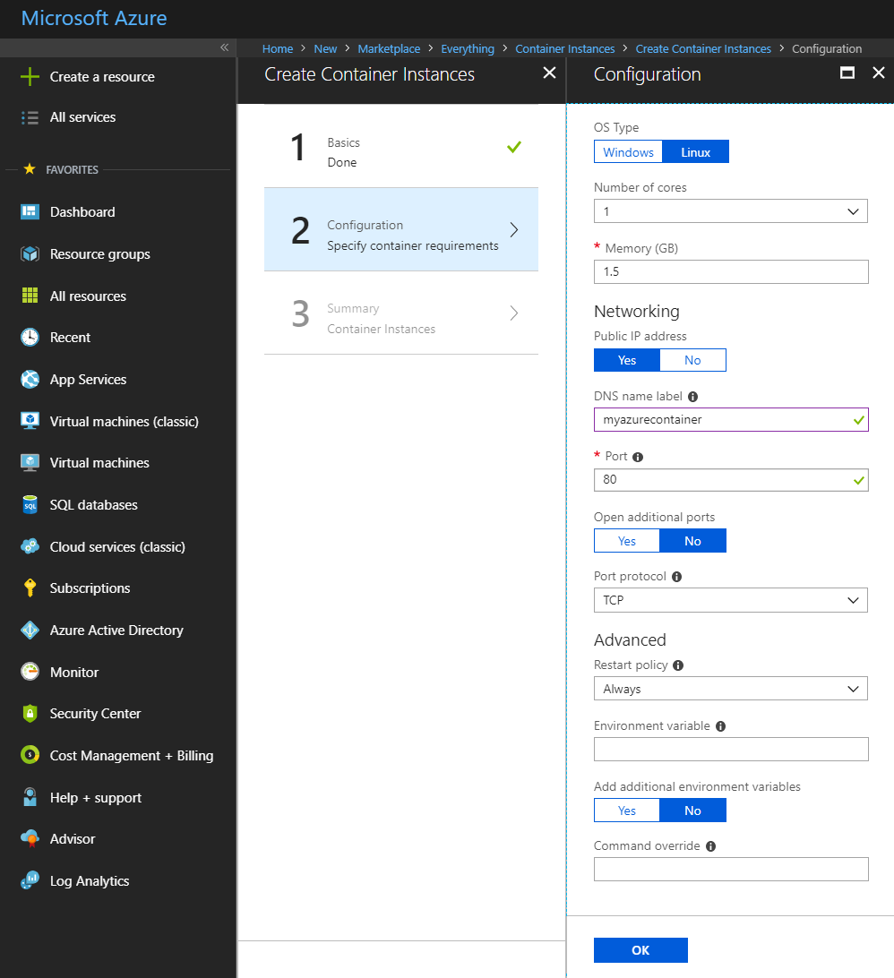 Implementing Azure-Managed Kubernetes and Azure Container Service