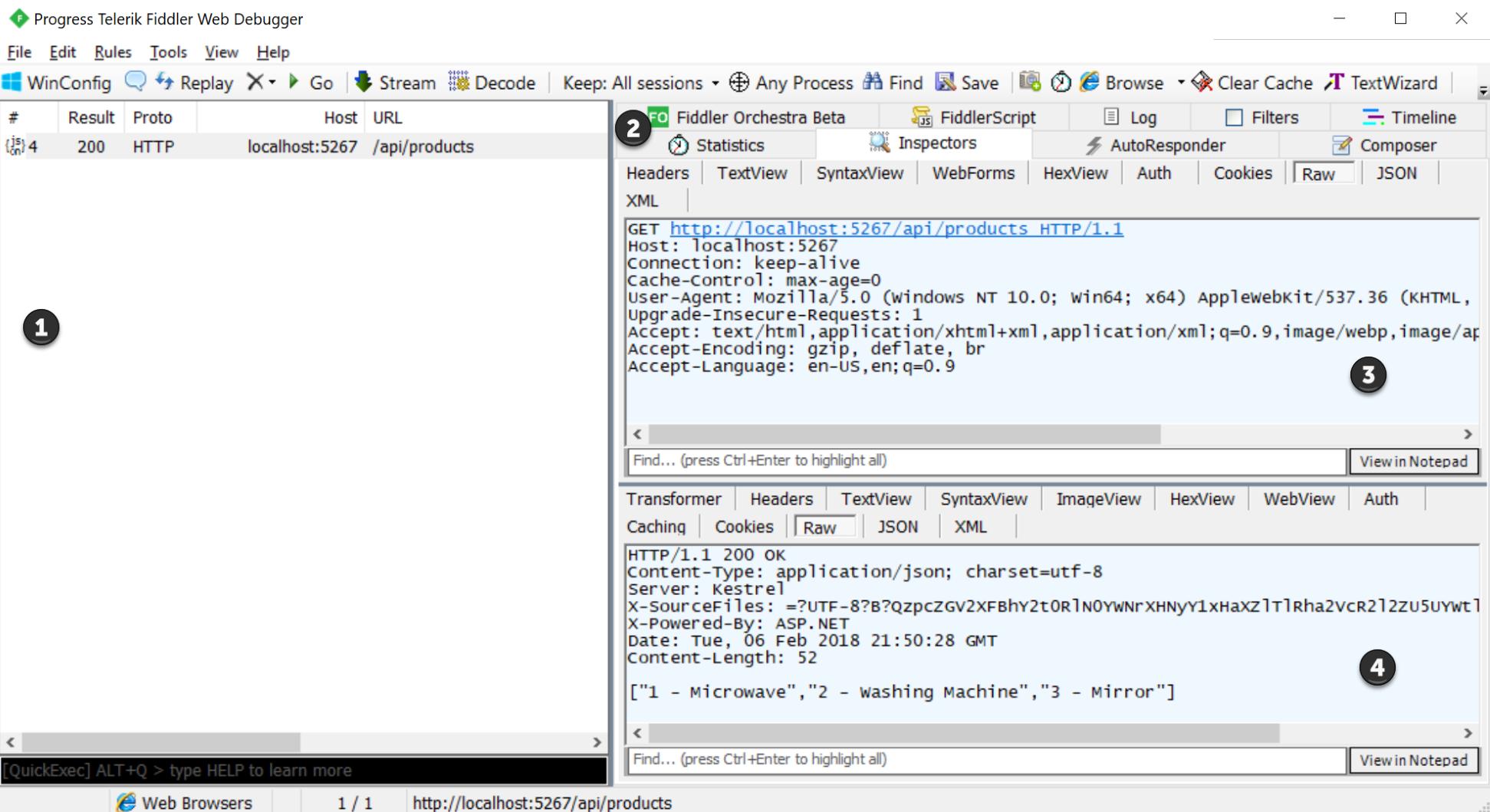 Inspecting APIs in ASP NET Core [Tutorial] | Packt Hub