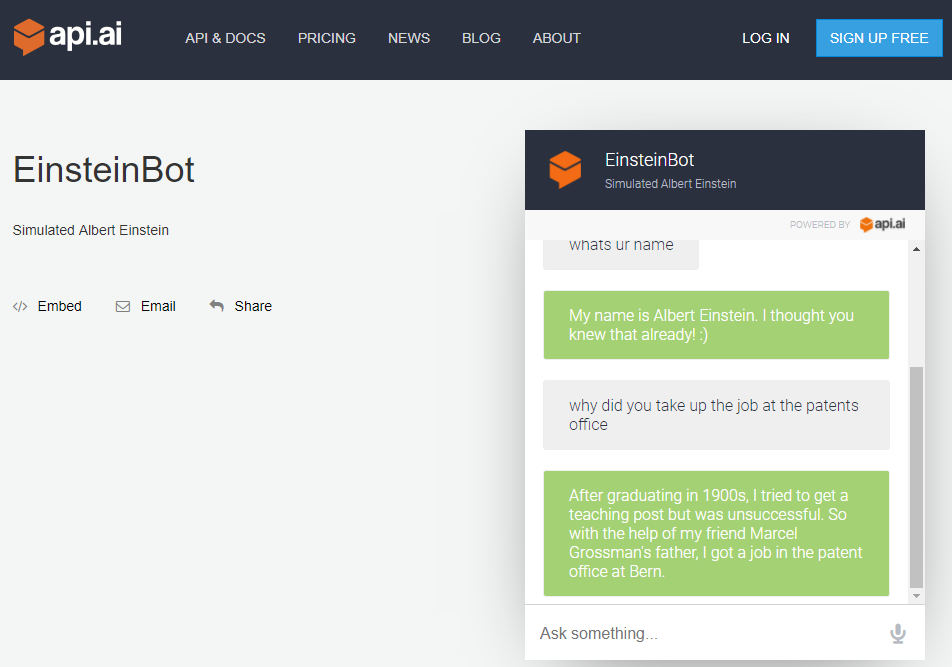Creating and deploying a chatbot using Dialogflow [Tutorial