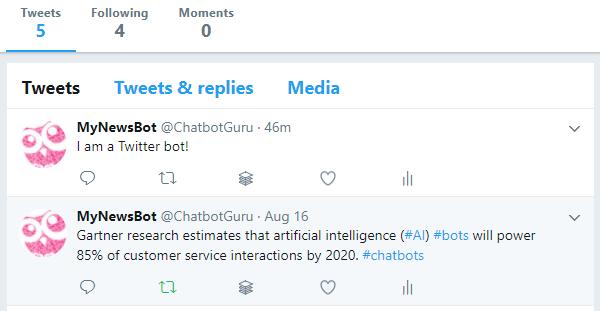 Building a Twitter news bot using Twitter API [Tutorial