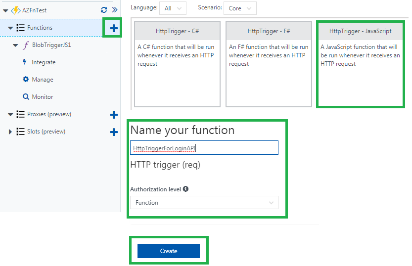 Creating triggers in Azure Functions [Tutorial] | Packt Hub