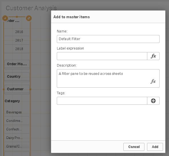 How to create sales analysis app in Qlik Sense using DAR